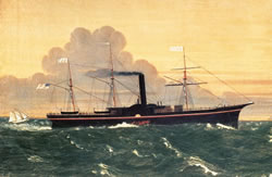 SS Central America and the Panic of 1857. Gold hunters to dive ship wreck.
